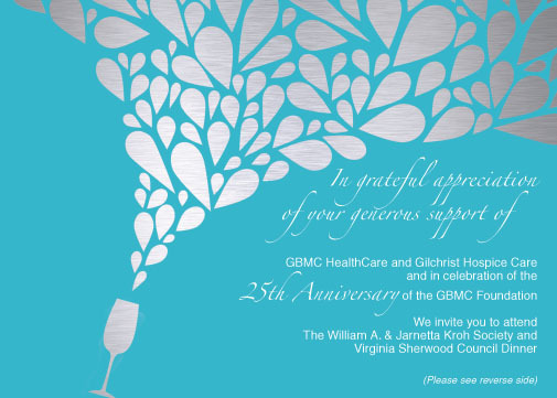 GBMC Foundation Formal Dinner Invitation