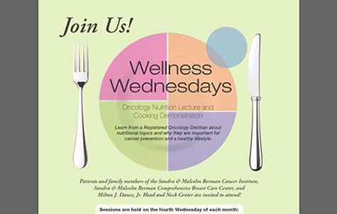 """Wellness Wednesdays"" Poster Design"