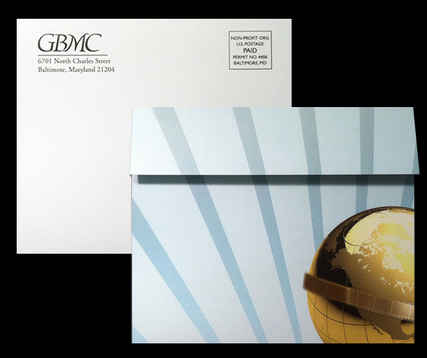 GBMC Employee Recognition Dinner Self-Mailer Invitation
