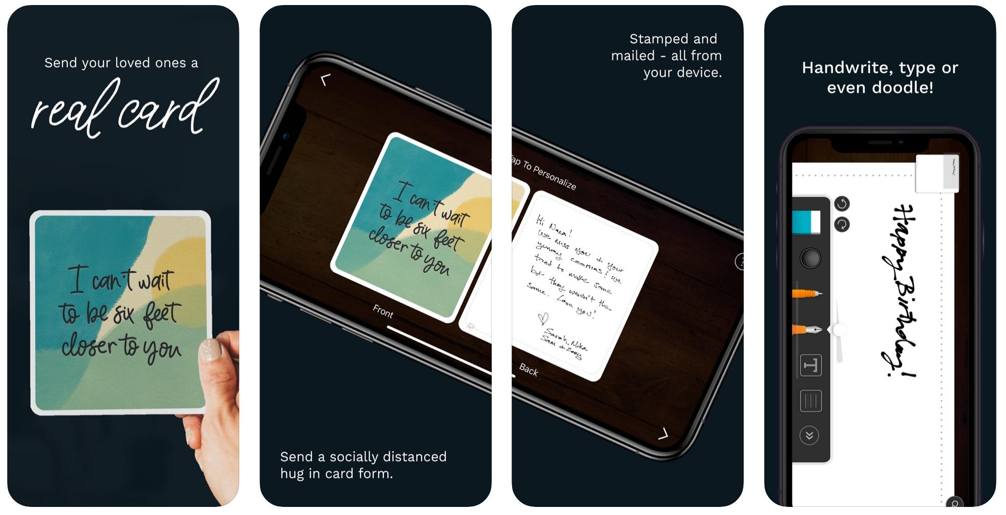 screenshot of felt app